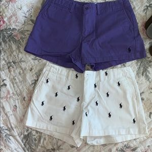 Set of 2 Polo Shorts!